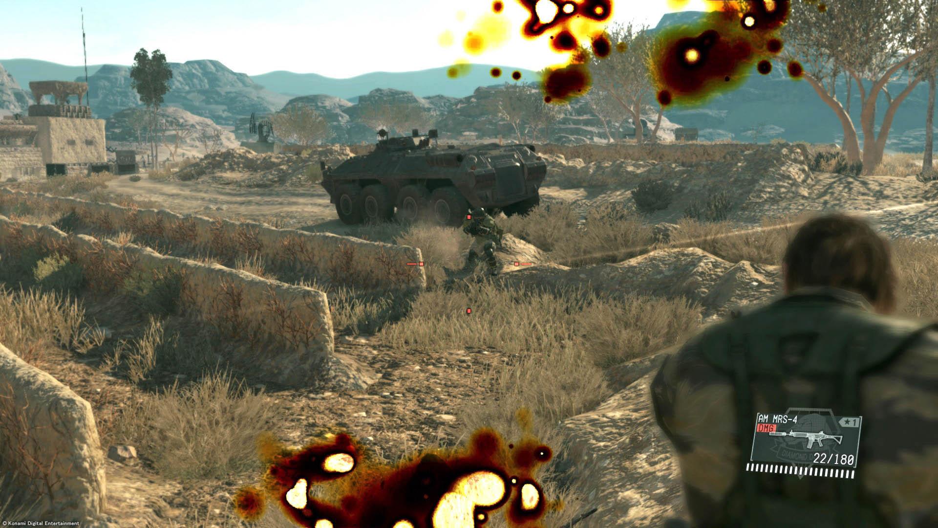 Οι μάχες ενάντια σε άρματα απαιτούν προσοχή...