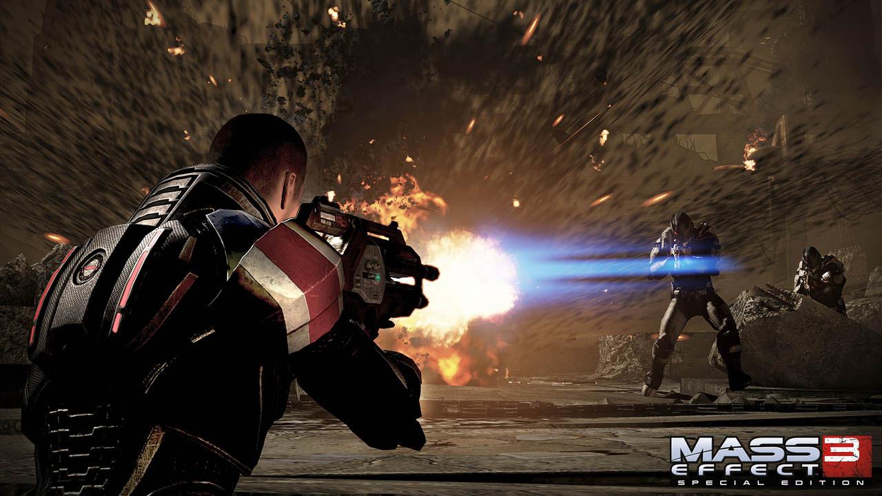 Μπορεί να παίξει κάποιος το mass effect 3 ως action game.
