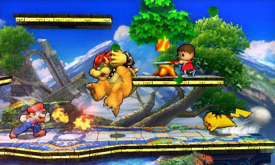 Η διαφορετική αισθητική είναι εμφανής στο 3DS αλλά όλα δείχνουν πανέμορφα στις οθόνες του!